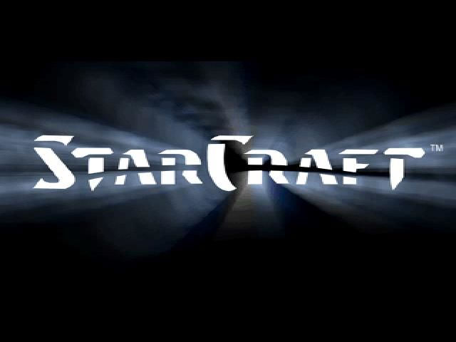 StarCraft Windows Title screen