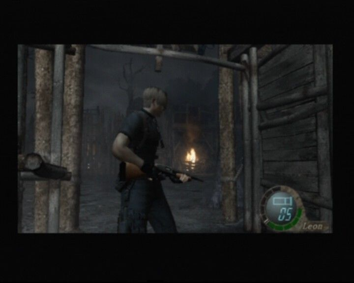 Resident Evil 4 PlayStation 2 Camera lets you rotate only by 90 degrees in any direction