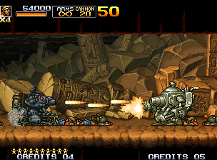 Metal Slug 5 Neo Geo Engaged in the new Slug Gunner, Marco must use all ammo possible to defeat a very mysterious tank...
