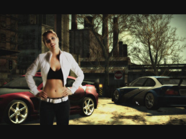 "Need for Speed: Most Wanted Windows ""Hello this is Josie Maran"". This is your safety warning. I feel very safe now."