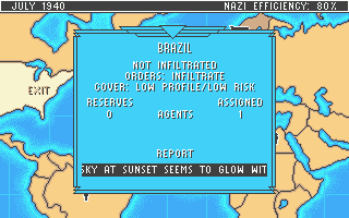 Rocket Ranger Atari ST The current state of play in Brazil