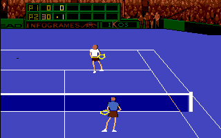 Advantage Tennis Amiga That ball was out of reach
