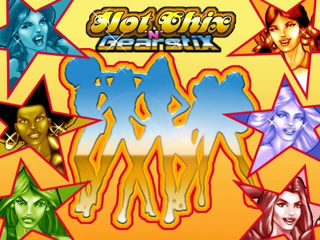 Hot Chix 'n' Gear Stix Windows Title Screen / Loading Screen