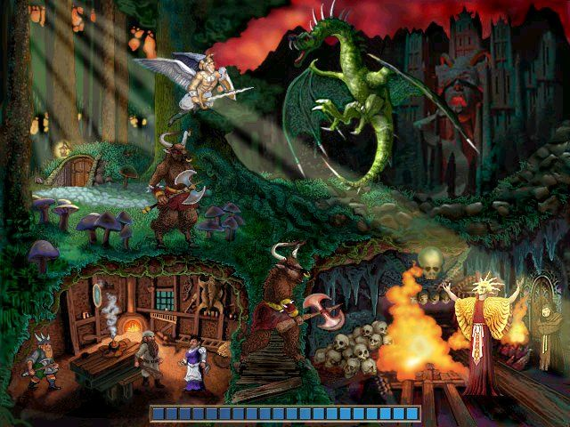 Might and Magic VII: For Blood and Honor Windows One of the very attractive loading screens