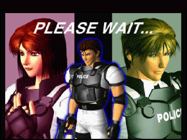 Virtua Cop 2 Windows Loading screen