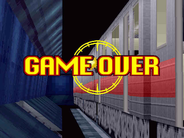Virtua Cop 2 Windows Game over man, game over