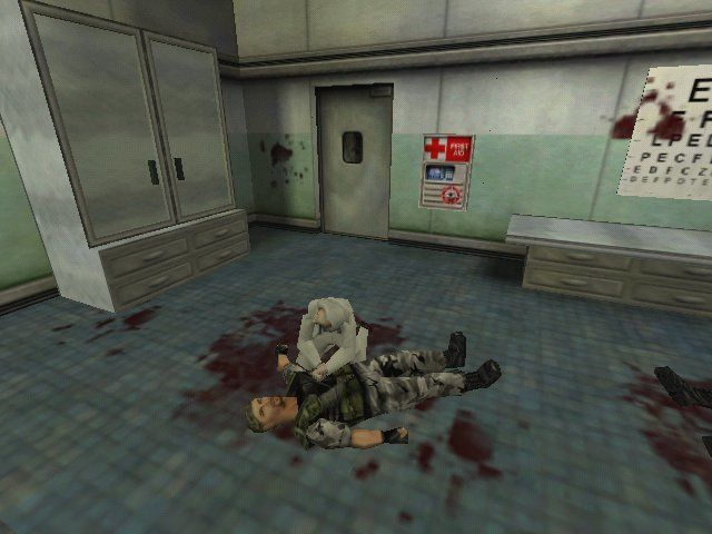 Half-Life: Opposing Force Windows A scientist, trying to save one of your comrades.