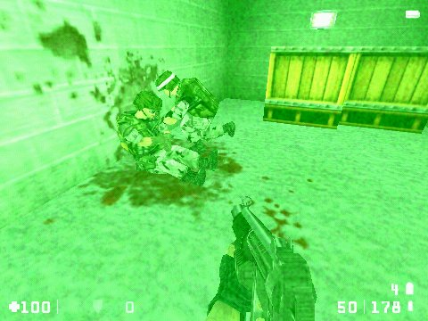 Half-Life: Opposing Force Windows You can bring the medic to wounded engineer and healing magic works.