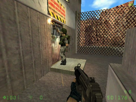 Half-Life: Opposing Force Windows Engineers are especially useful when it comes to cutting doors.