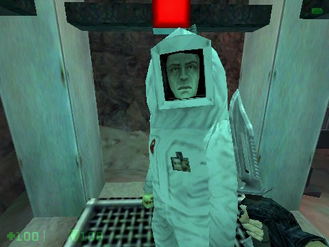 Half-Life: Opposing Force Windows After saving a scientist, lead him to the door that needs to be opened.