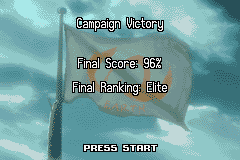 Rebelstar: Tactical Command Game Boy Advance Final score