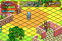 Rebelstar: Tactical Command Game Boy Advance Another alien enemy