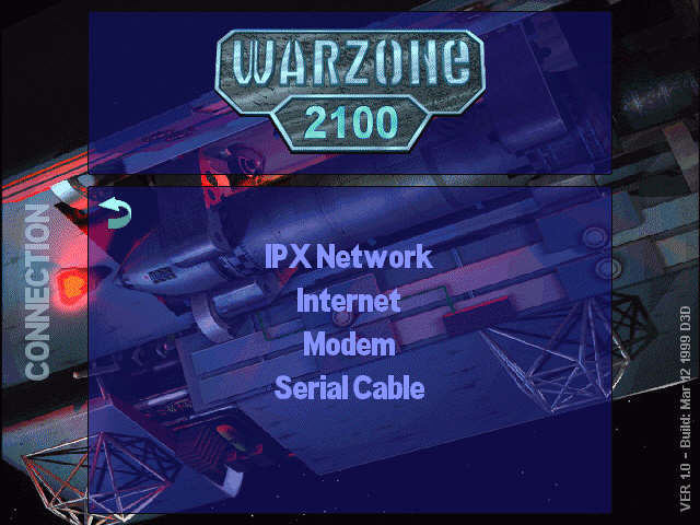 Warzone 2100 Windows network setup