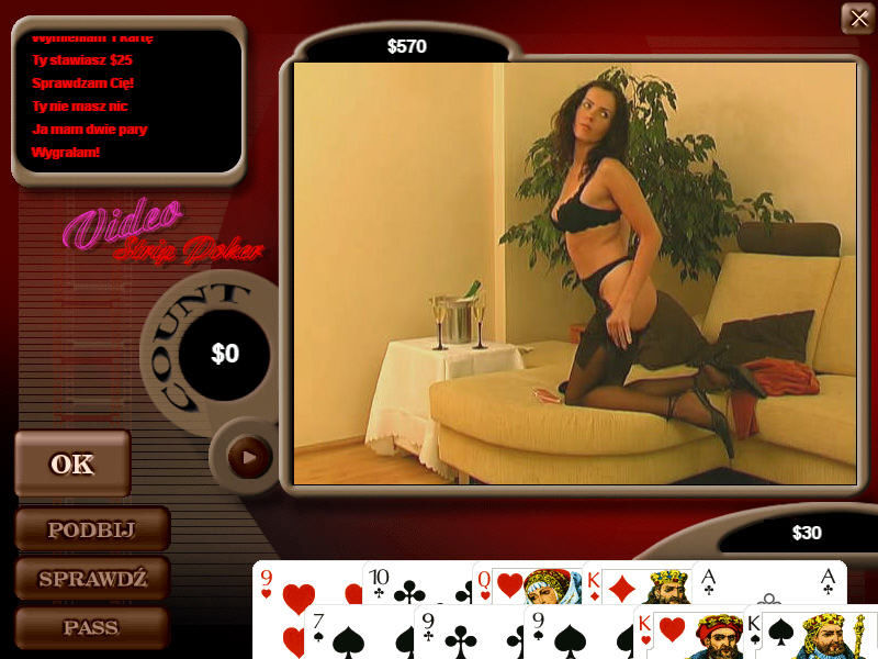 Codecs for viseo strip poker
