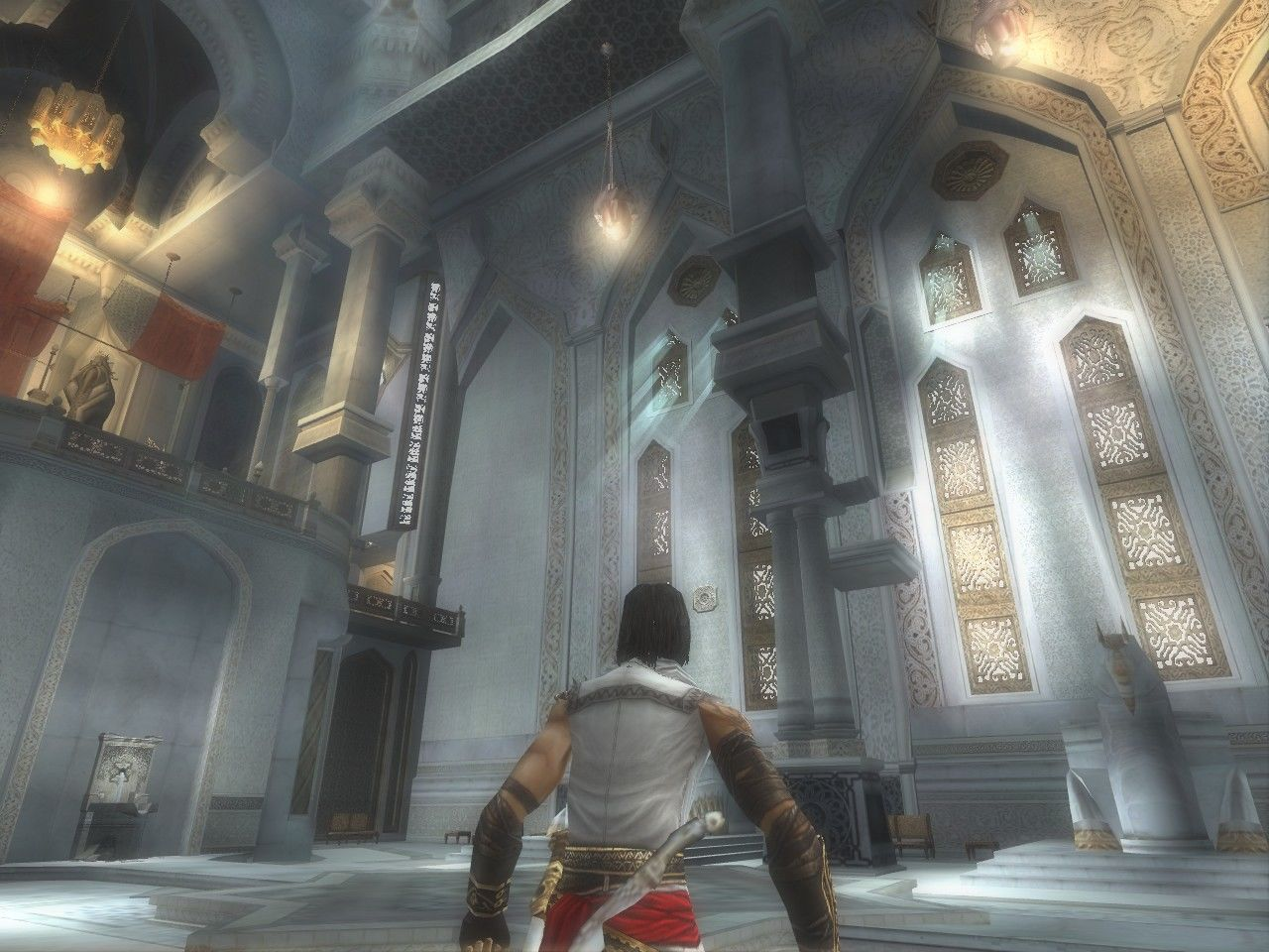 Prince of Persia: The Two Thrones Windows The throne room.