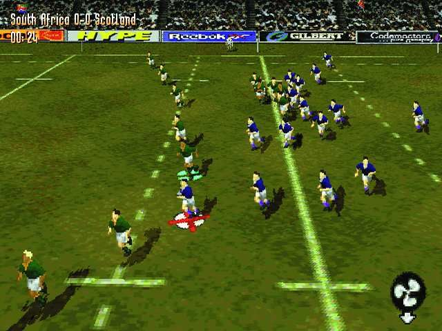 Jonah Lomu Rugby PlayStation Running rugby