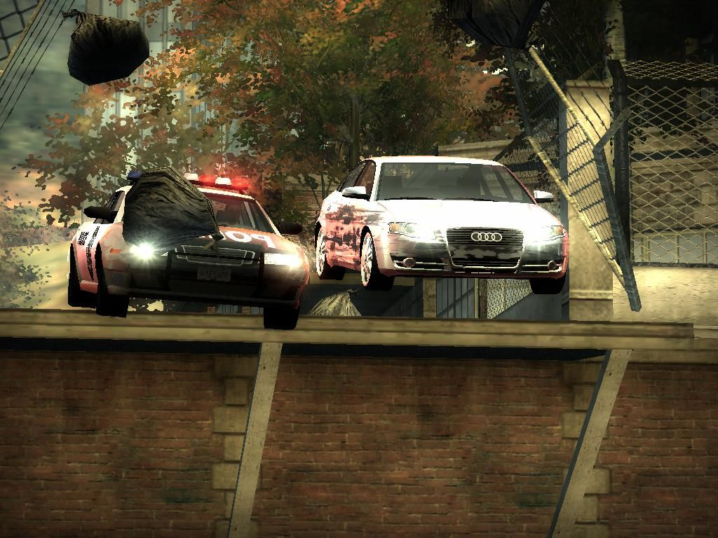 Need for Speed: Most Wanted (Black Edition) Windows Cops are very persistent