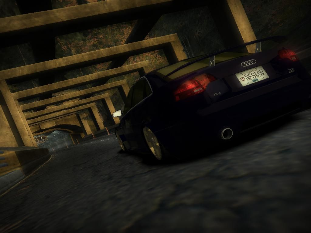 Need for Speed: Most Wanted (Black Edition) Windows Closing to race starting point