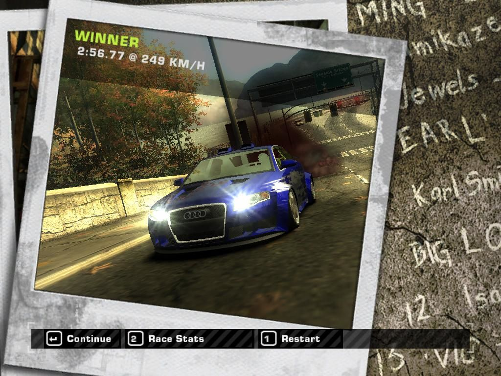 Need for Speed: Most Wanted (Black Edition) Windows I won.