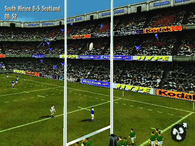 Jonah Lomu Rugby PlayStation Conversion attempt