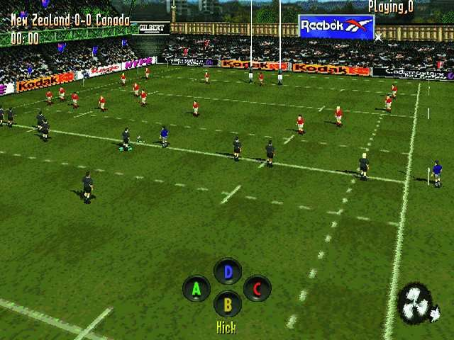 Jonah Lomu Rugby PlayStation New Zealand to kick off