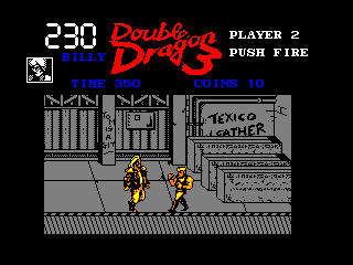 Double Dragon III: The Sacred Stones Amstrad CPC Boss