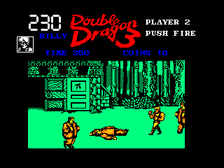 Double Dragon III: The Sacred Stones Amstrad CPC Mission 2 - China