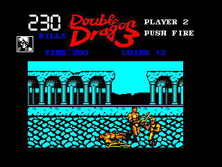 Double Dragon III: The Sacred Stones Amstrad CPC Mission 4 - Italy