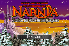 The Chronicles of Narnia: The Lion, the Witch and the Wardrobe Game Boy Advance Welcome to Narnia