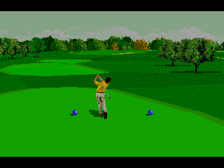 PGA Tour 96 Genesis It seems to be going well...