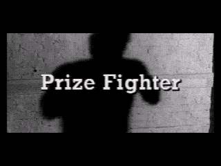 Prize Fighter SEGA CD FMV title screen