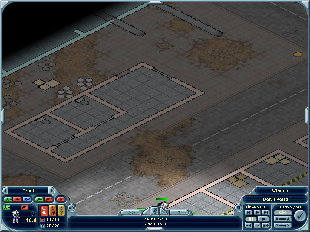 Laser Squad: Nemesis Windows Don't like 3D graphics? Turn them off and play the entire game on a 2D board.