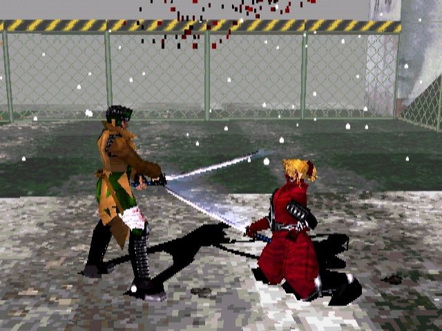 Bushido Blade PlayStation The meat of the game. A duel.