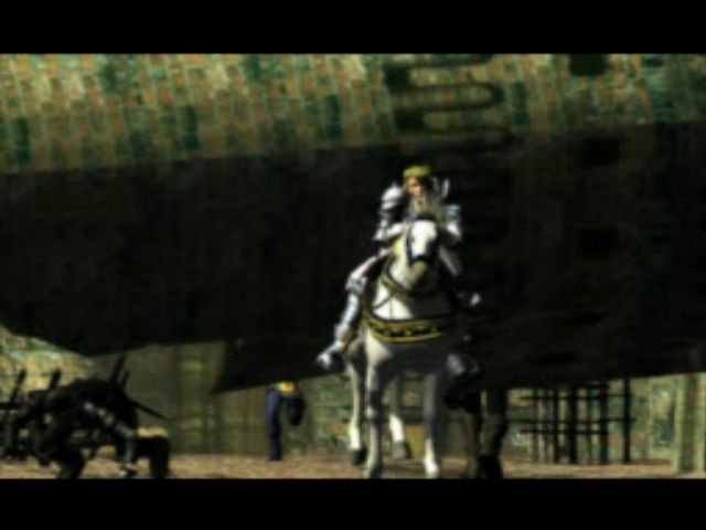 Soul Blade PlayStation Falling Towers. Siegfried escapes from a siege in the beautiful CGI intro.