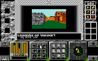 Legends of Valour Atari ST The real adventure begins