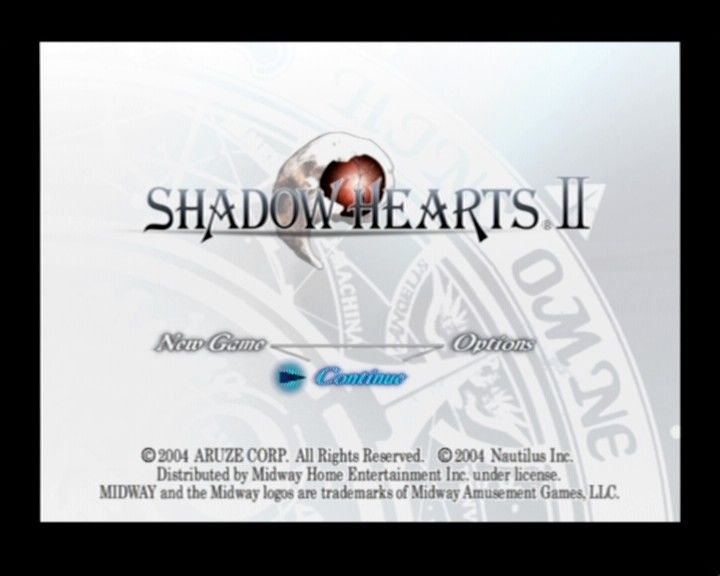 Shadow Hearts: Covenant PlayStation 2 Main Menu/Main Title