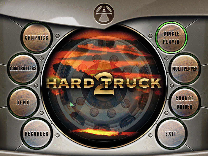 Hard Truck 2 Windows main menu