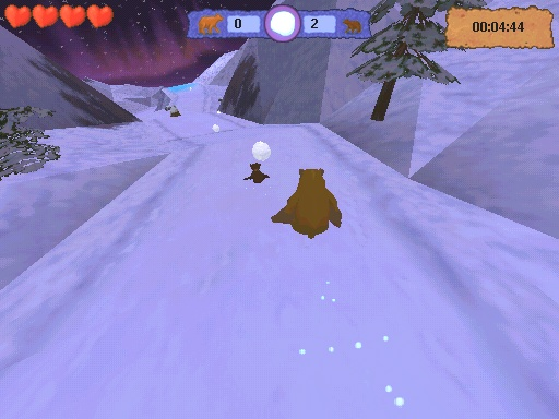 Disney's Brother Bear Windows Sliding down the mountain