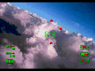 Tomcat Alley SEGA CD Choosing a target