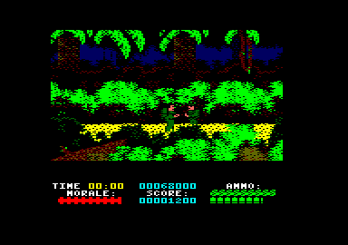 Platoon Amstrad CPC Close combat