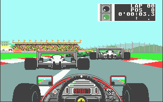 Ferrari Formula One Atari ST Ready to race