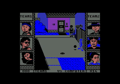 Street Sports Basketball Amstrad CPC Missed the basket