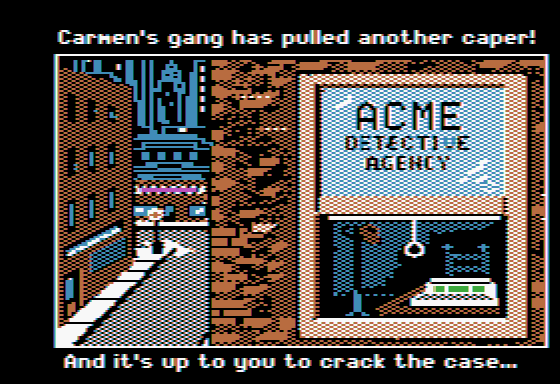 Where in the World Is Carmen Sandiego? Apple II Introduction: can you crack the case?