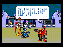 Dr. Robotnik's Mean Bean Machine SEGA Master System The intro