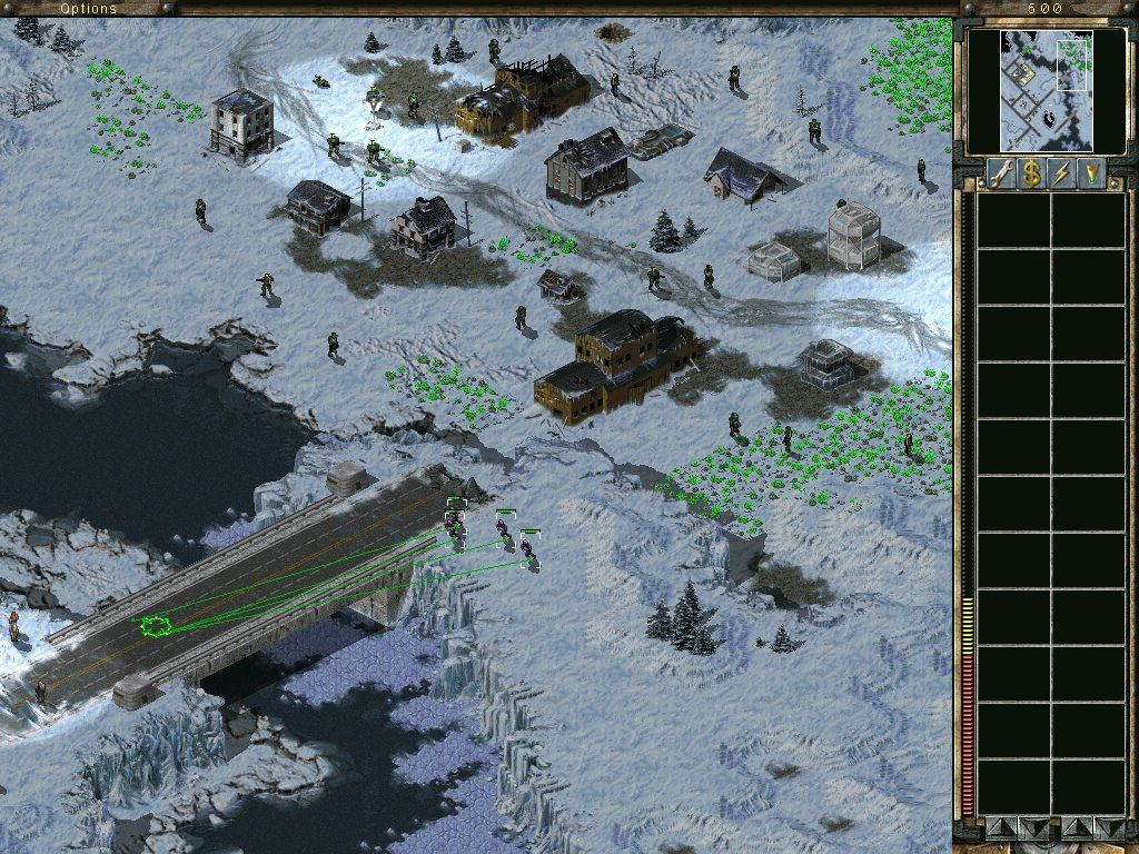 Command & Conquer: Tiberian Sun - Firestorm Windows Mutant soldiers everywhere...
