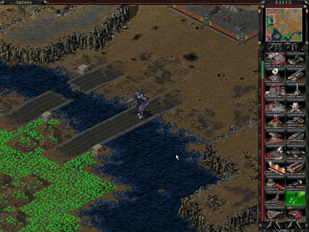 Command & Conquer: Tiberian Sun - Firestorm Windows The Guardian is on the way to my base!