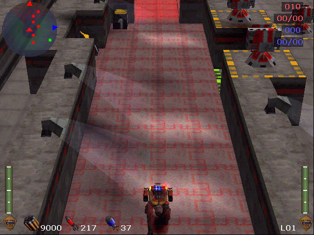 Future Cop: L.A.P.D. PlayStation running down my red-brick road