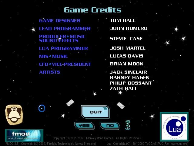 Hyperspace Delivery Boy! Windows PC credits