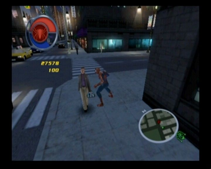 Spider-Man 2 GameCube Each sub-quest done will reward you with a small amount of hero points.