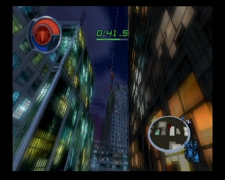 Spider-Man 2 GameCube Day/night cycles are active throughout the game all the time and the city will act accordingly.